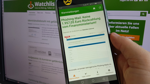 Watchlist Internet am Handy